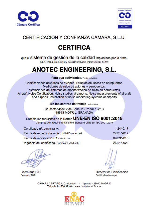 Anotec obtains approval of its quality assurance system in ...